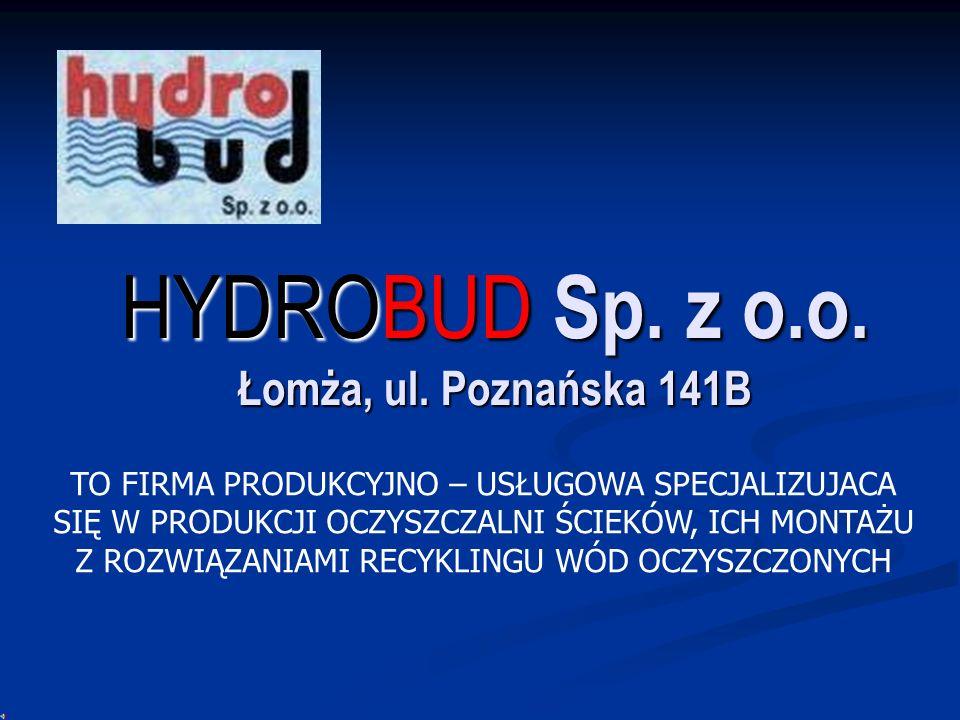 HYDROBUD Sp. z o.o. Łomża, ul. Poznańska 141B
