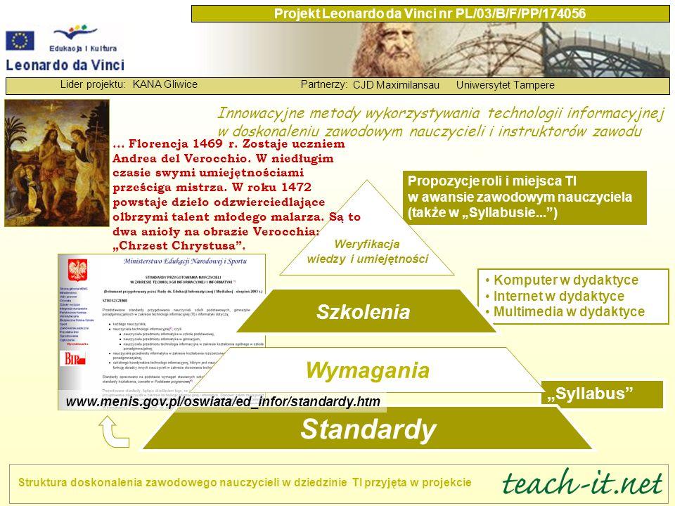 Weryfikacja wiedzy i umiejętności