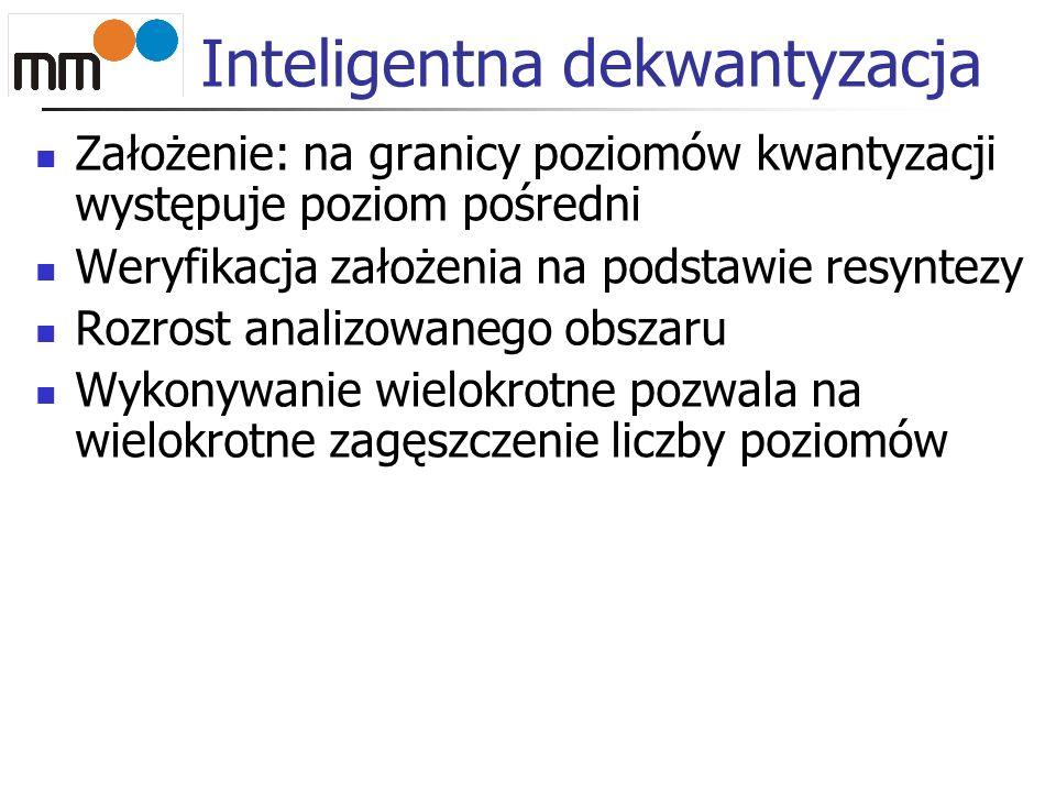 Inteligentna dekwantyzacja