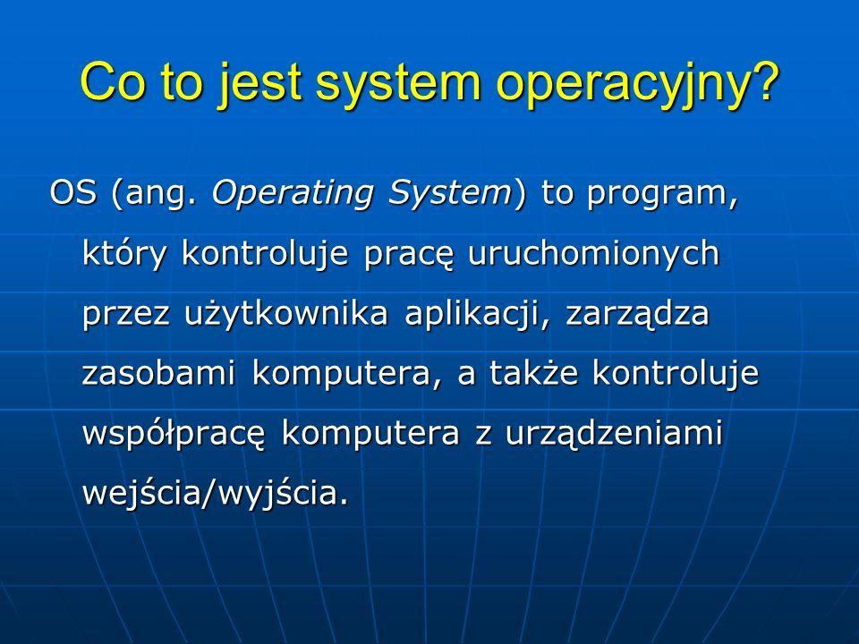 Co to jest system operacyjny