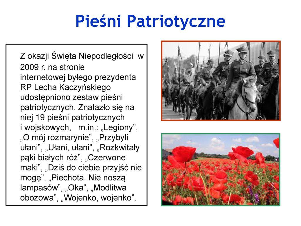 Pieśni Patriotyczne