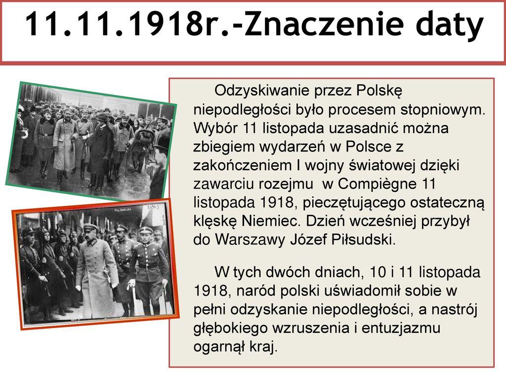 11.11.1918r.-Znaczenie daty