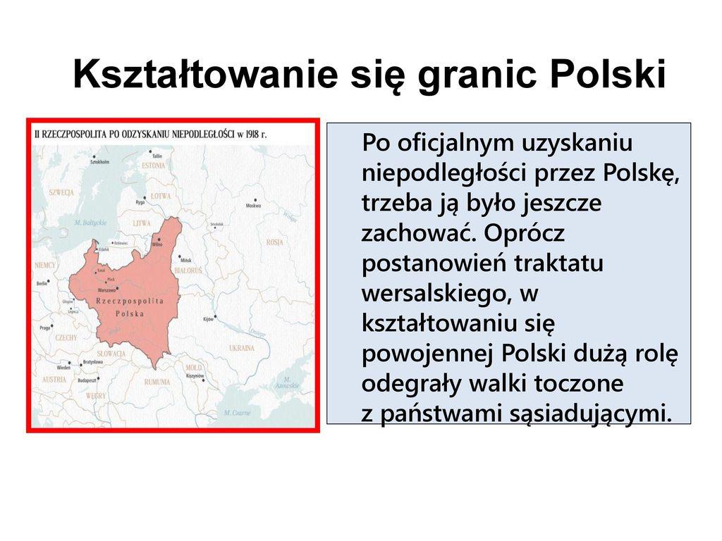 Kształtowanie się granic Polski