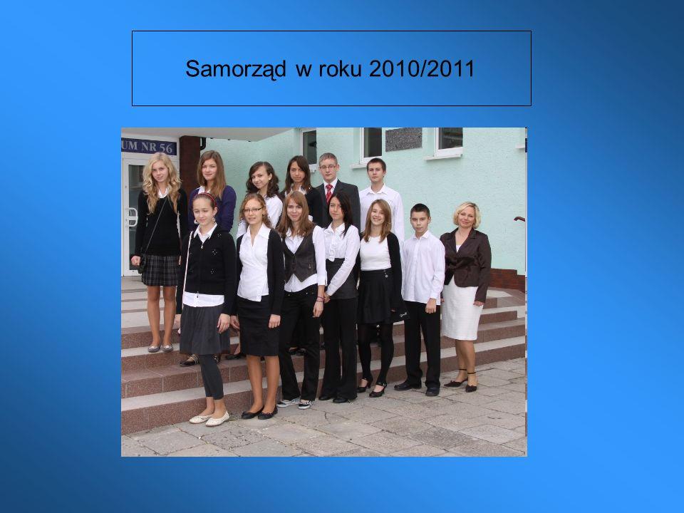Samorząd w roku 2010/2011