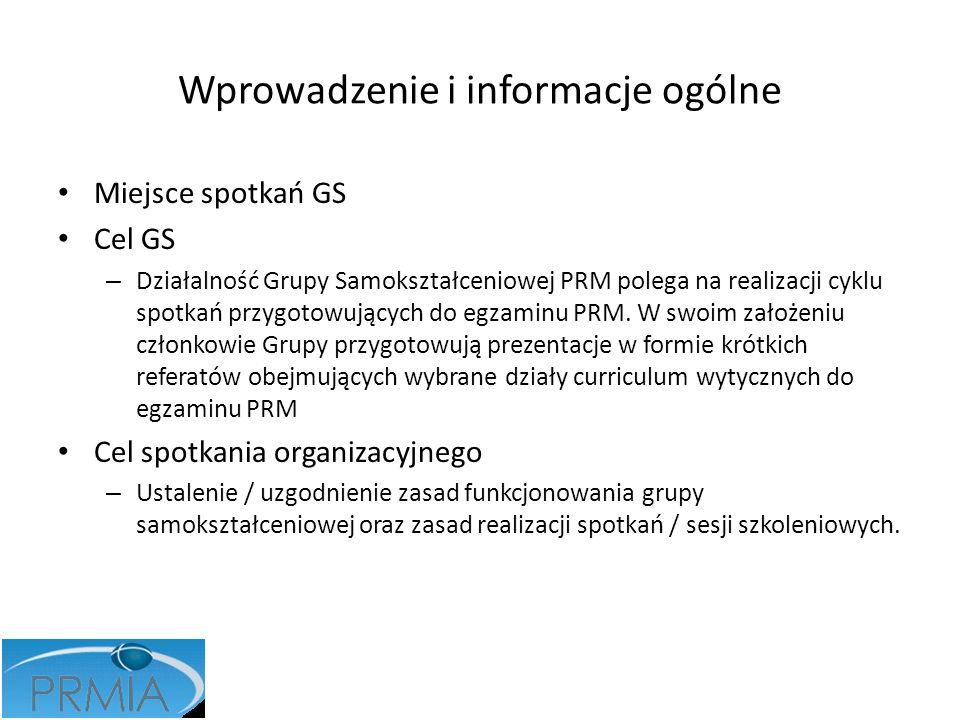 Wprowadzenie i informacje ogólne