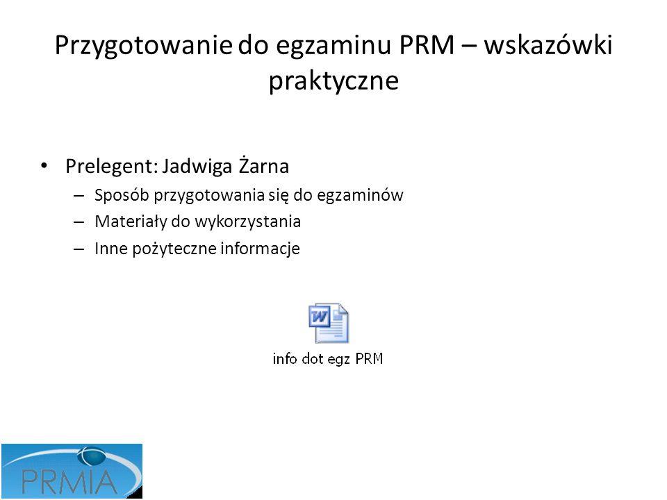 Przygotowanie do egzaminu PRM – wskazówki praktyczne