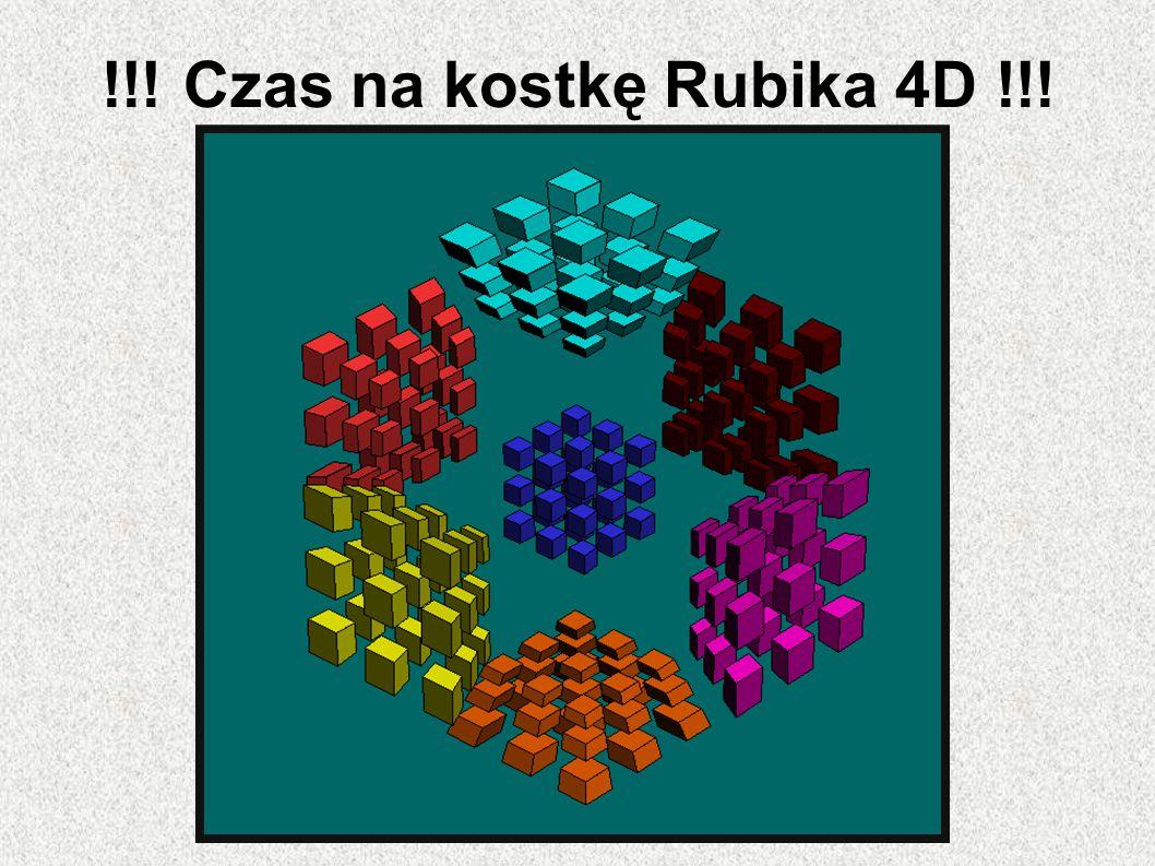 !!. Czas na kostkę Rubika 4D !!.