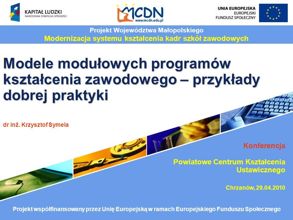 Projekt Województwa Małopolskiego