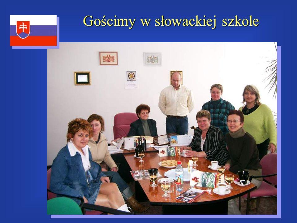 Gościmy w słowackiej szkole