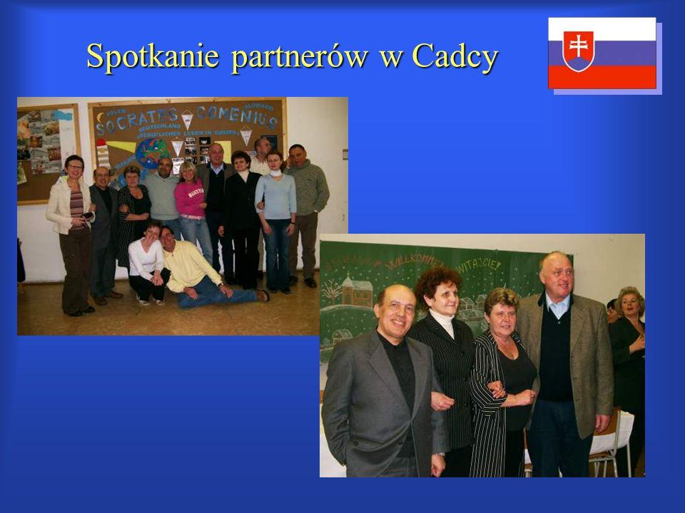 Spotkanie partnerów w Cadcy