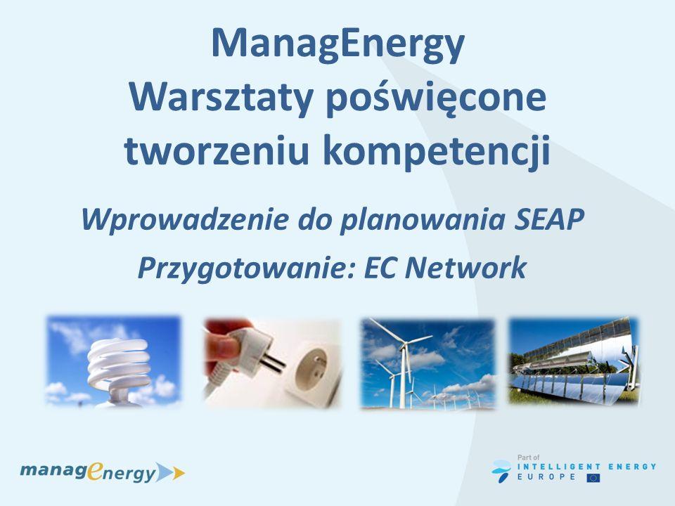 ManagEnergy Warsztaty poświęcone tworzeniu kompetencji