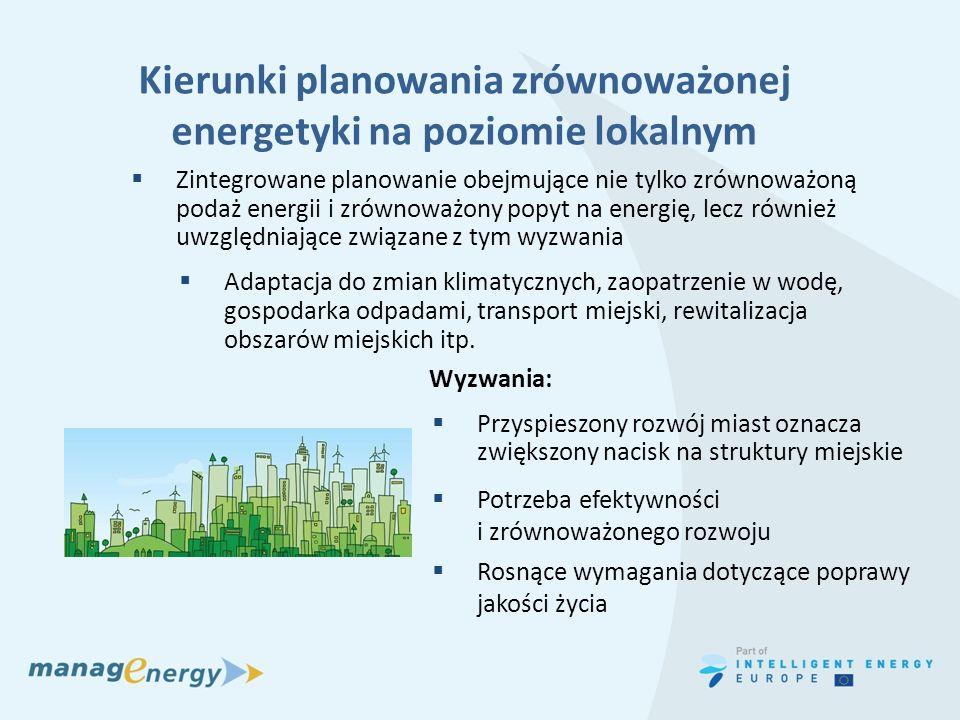 Kierunki planowania zrównoważonej energetyki na poziomie lokalnym