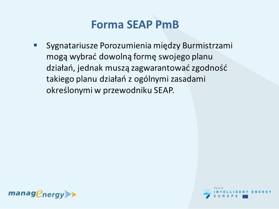 Forma SEAP PmB