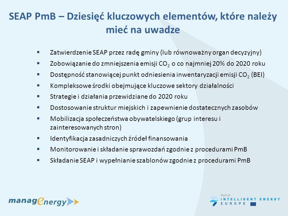 SEAP PmB – Dziesięć kluczowych elementów, które należy mieć na uwadze