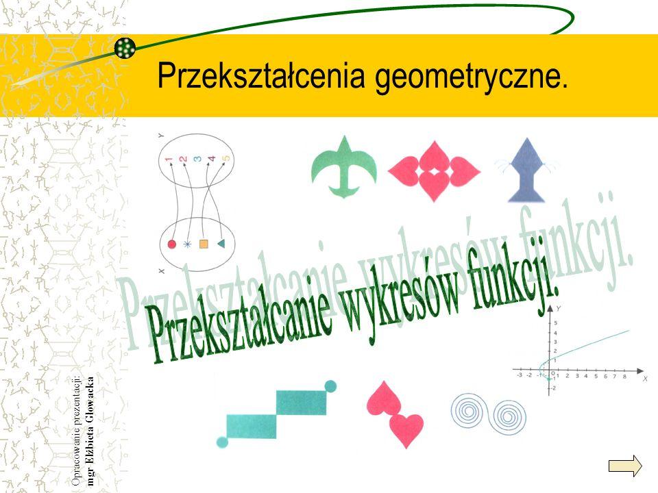 Przekształcenia geometryczne.