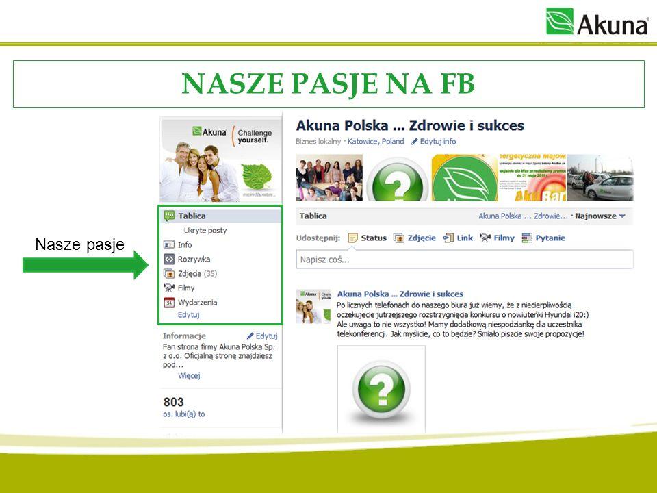 NASZE PASJE NA FB Nasze pasje