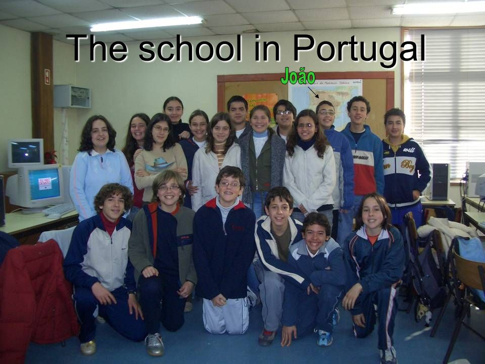 The school in Portugal João