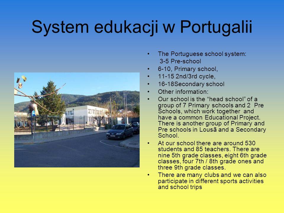 System edukacji w Portugalii