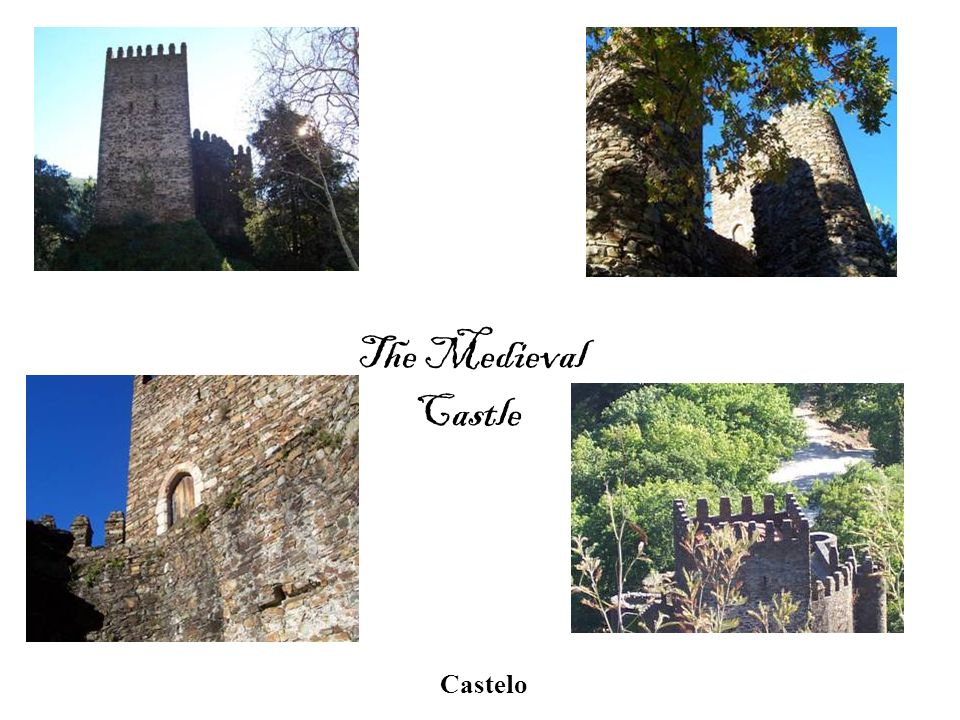 The Medieval Castle Castelo