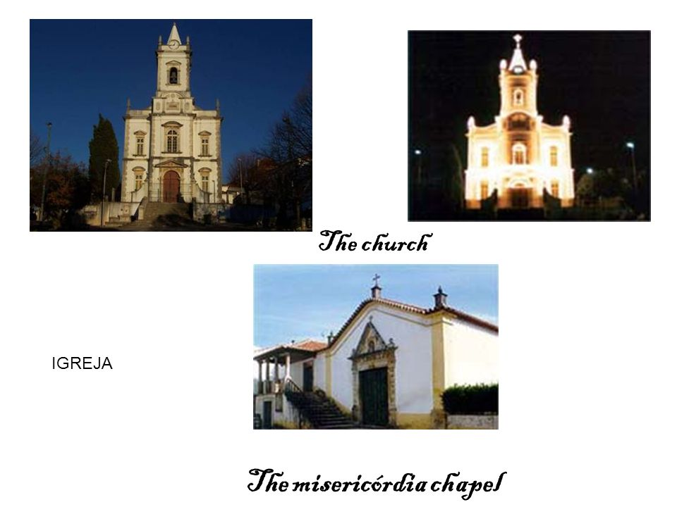 The misericórdia chapel