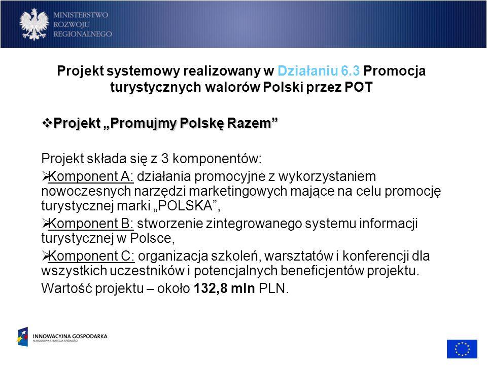 Projekt systemowy realizowany w Działaniu 6
