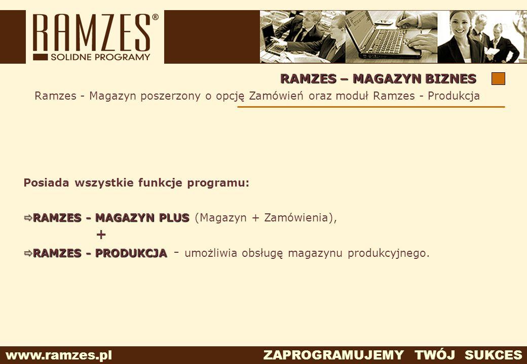 + RAMZES – MAGAZYN BIZNES