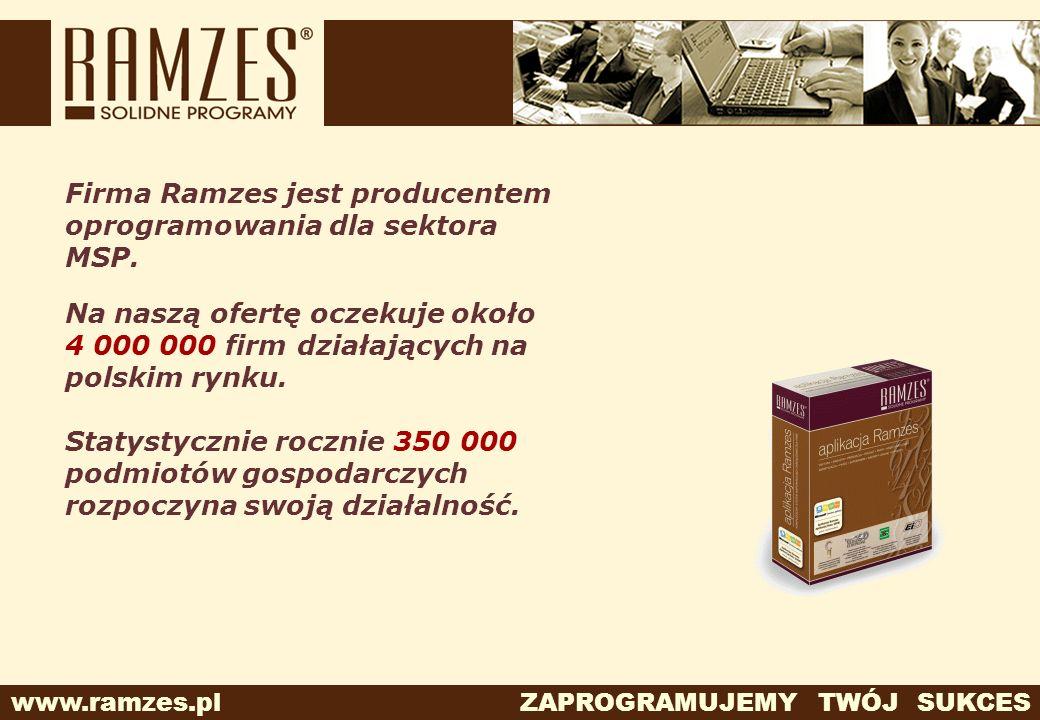 Firma Ramzes jest producentem oprogramowania dla sektora MSP.