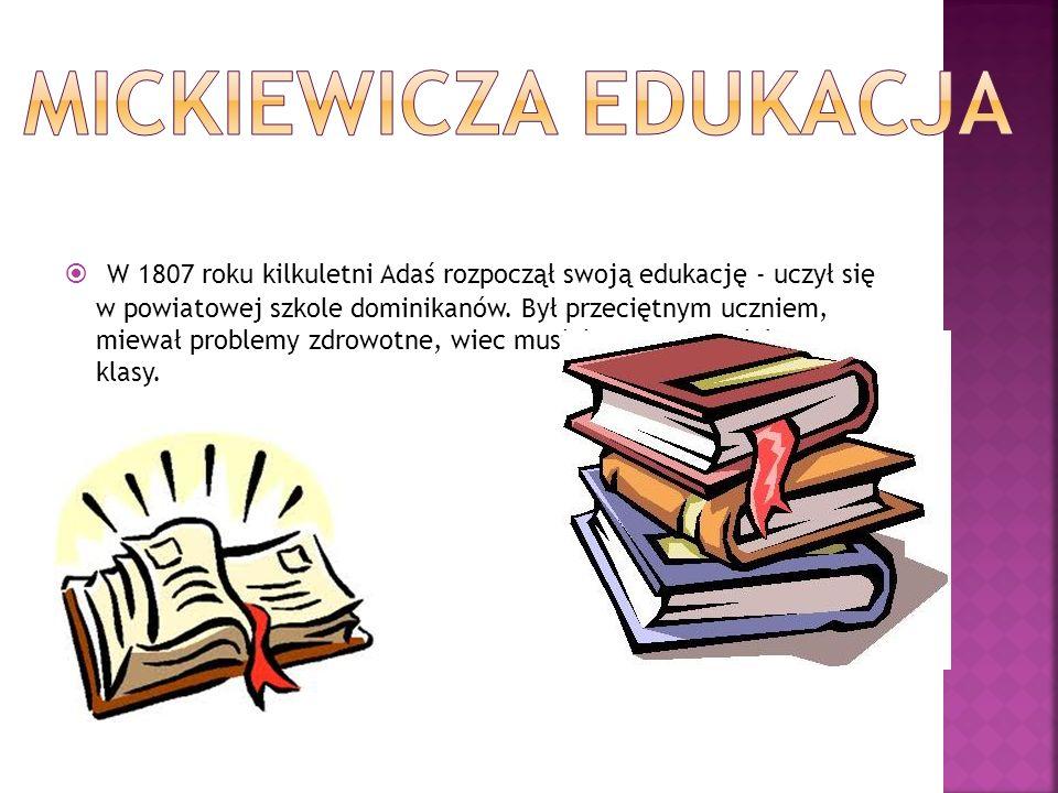 Mickiewicza EDUKACJA