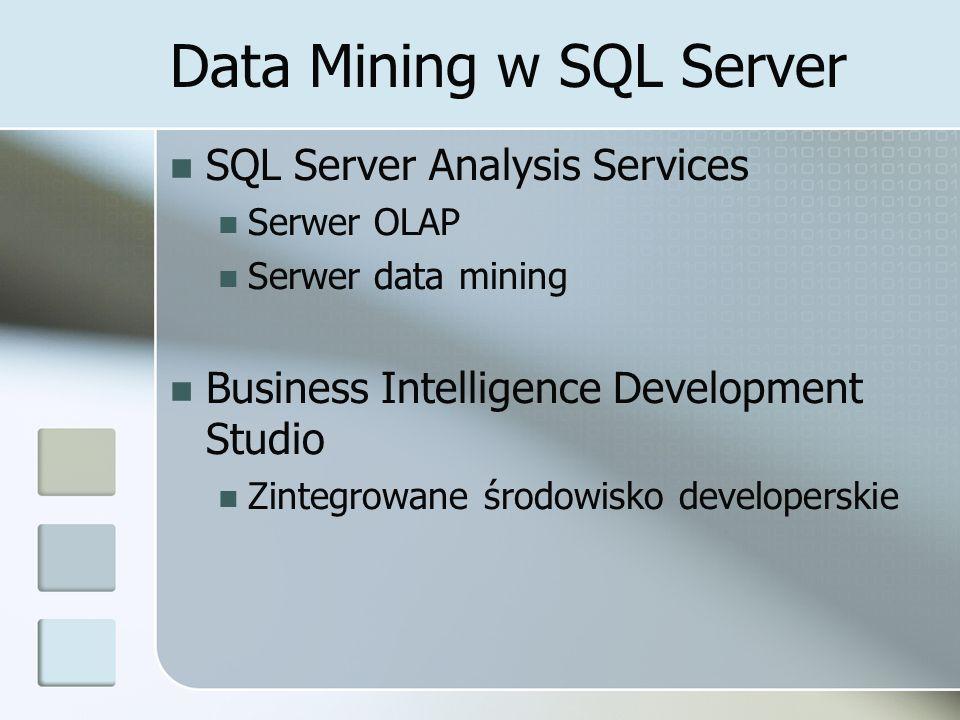 Data Mining w SQL Server