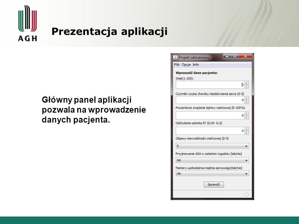 Prezentacja aplikacji