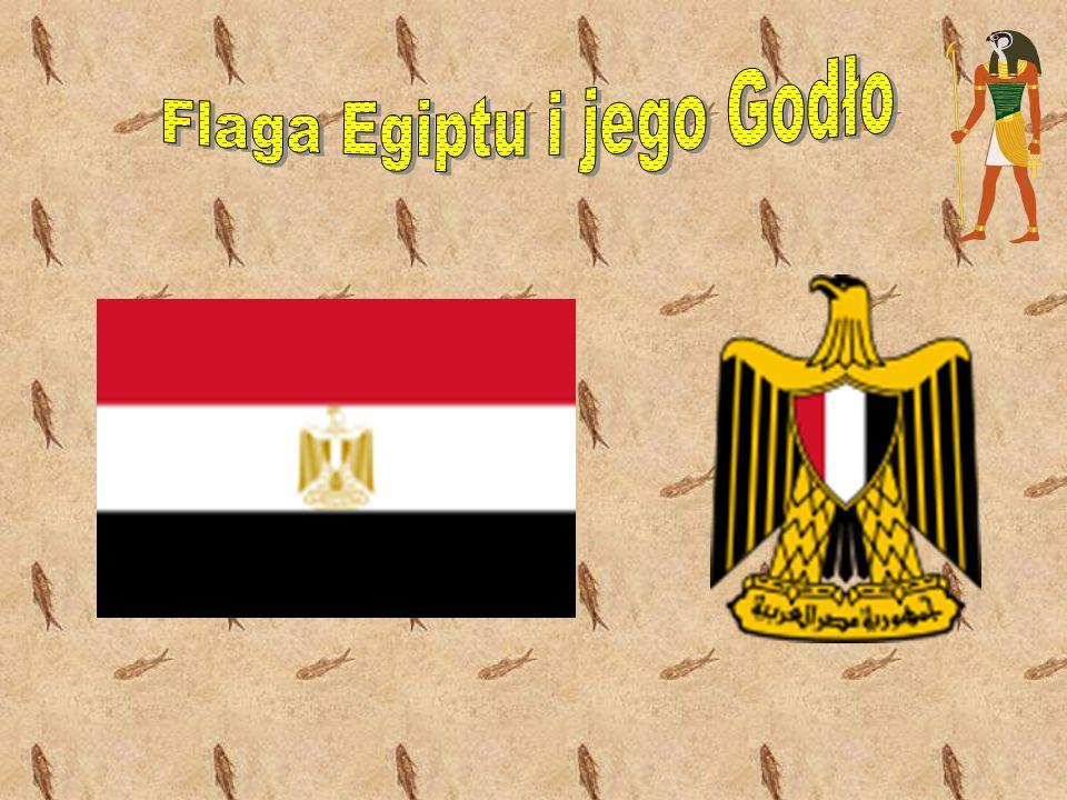 Flaga Egiptu i jego Godło