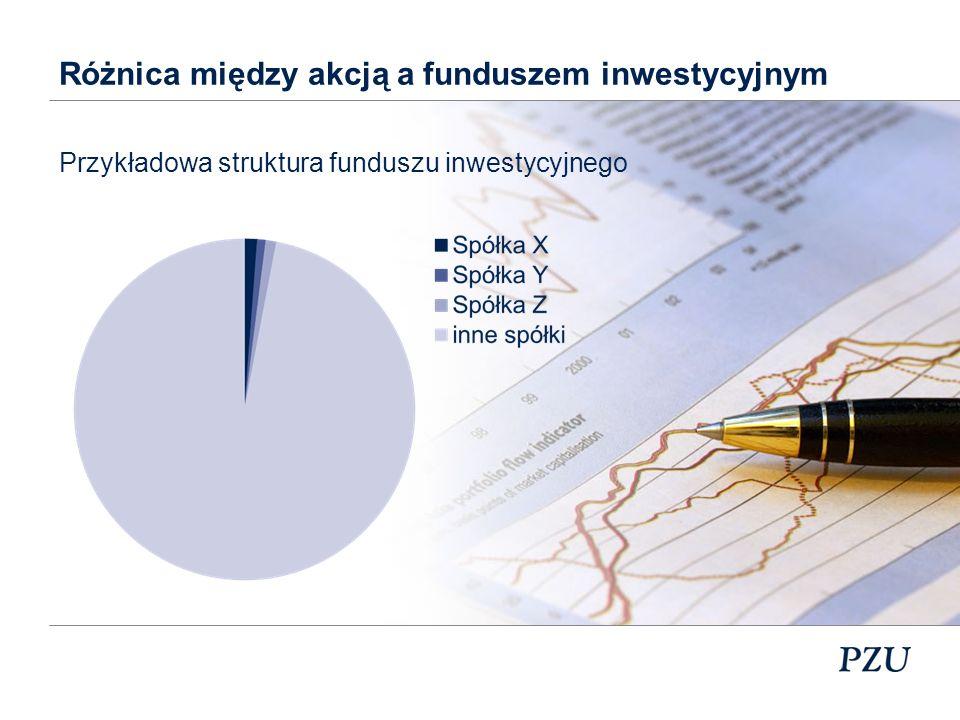 Różnica między akcją a funduszem inwestycyjnym
