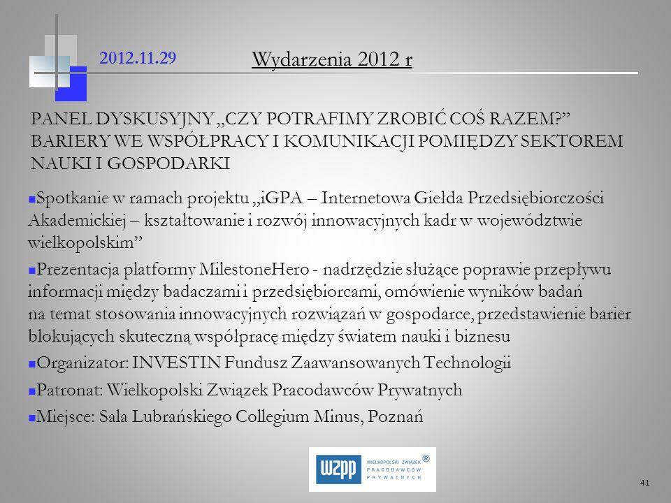 2012.11.29 Wydarzenia 2012 r.