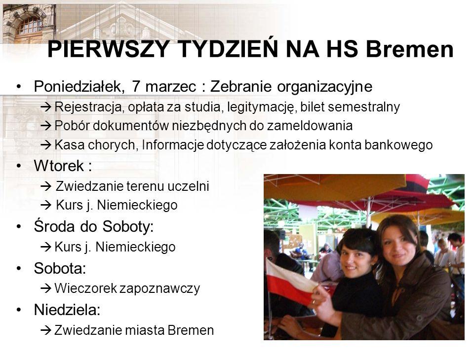 PIERWSZY TYDZIEŃ NA HS Bremen