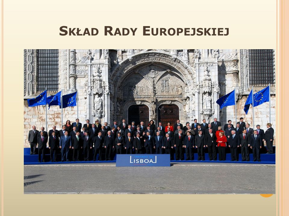 Skład Rady Europejskiej