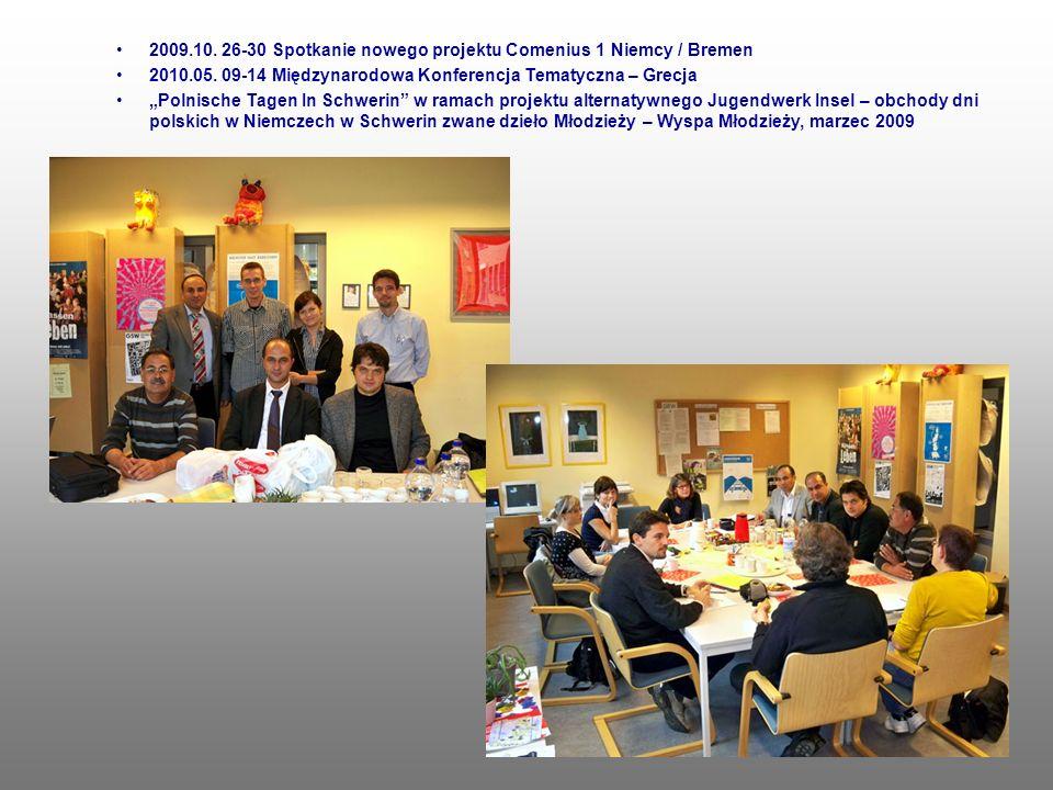 2009.10. 26-30 Spotkanie nowego projektu Comenius 1 Niemcy / Bremen