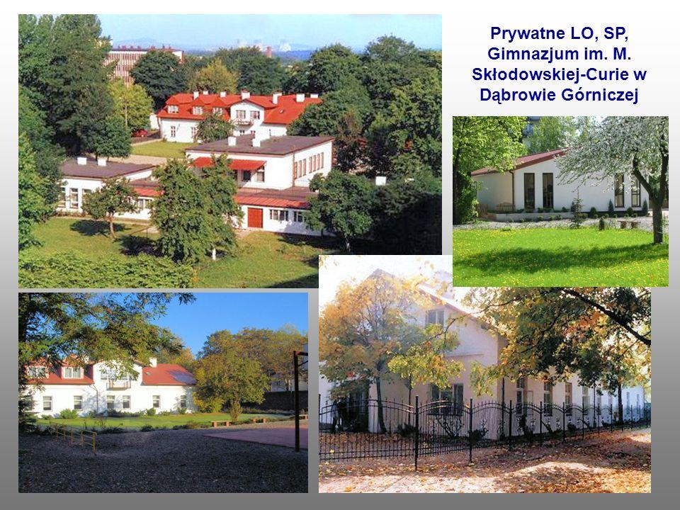 Prywatne LO, SP, Gimnazjum im. M