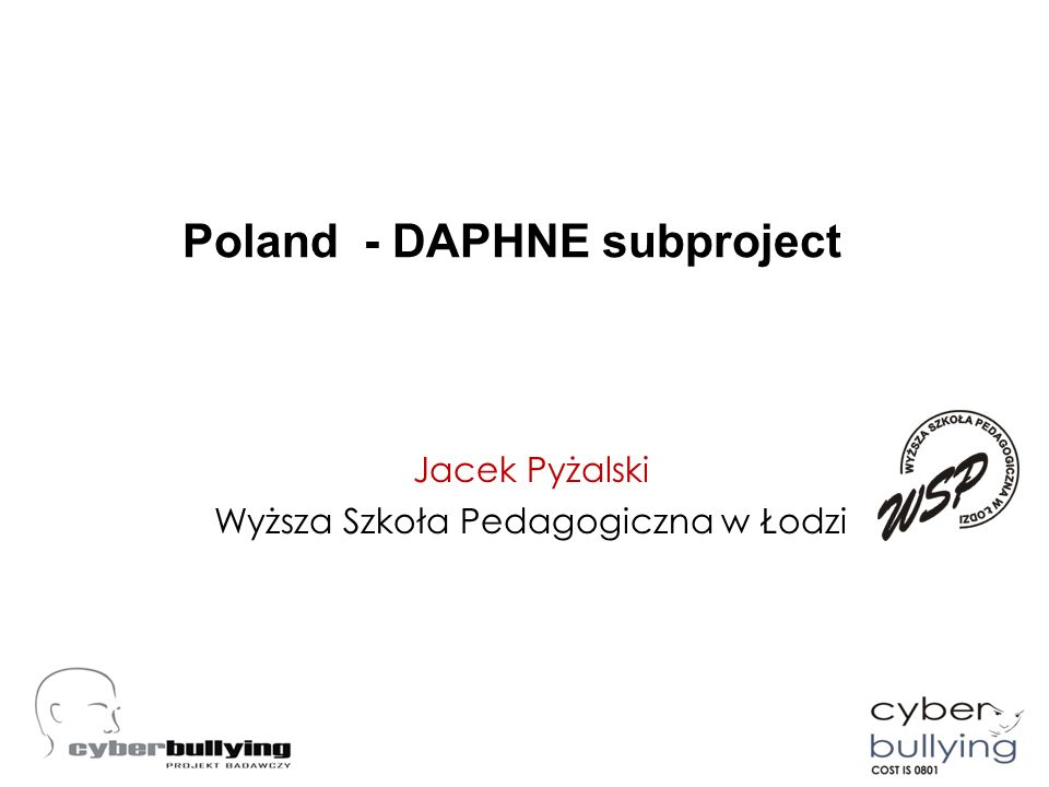 Poland - DAPHNE subproject