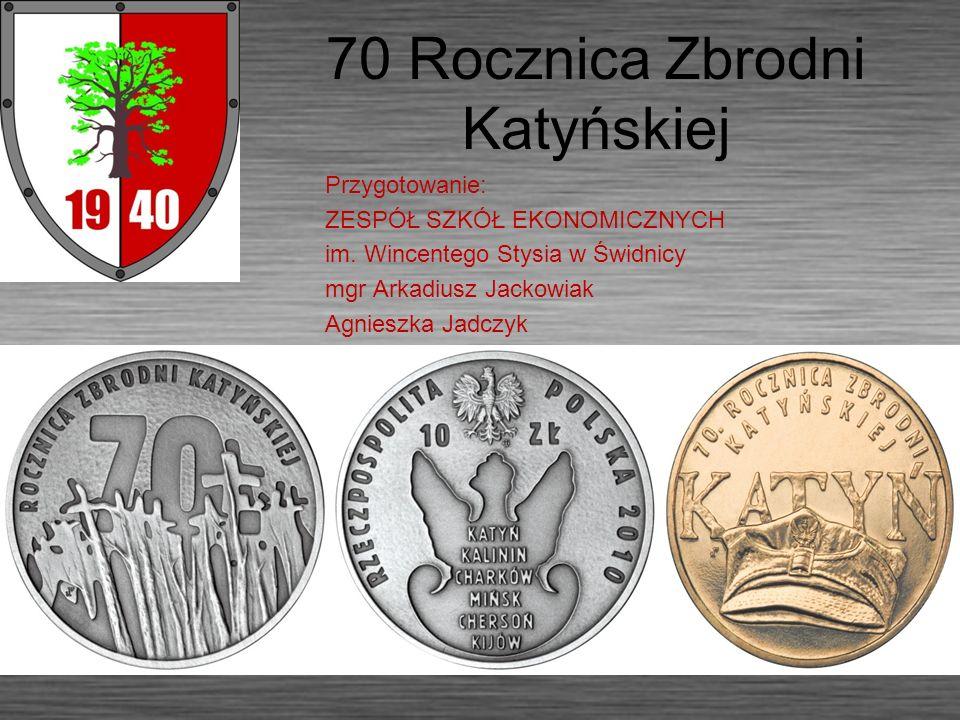 70 Rocznica Zbrodni Katyńskiej