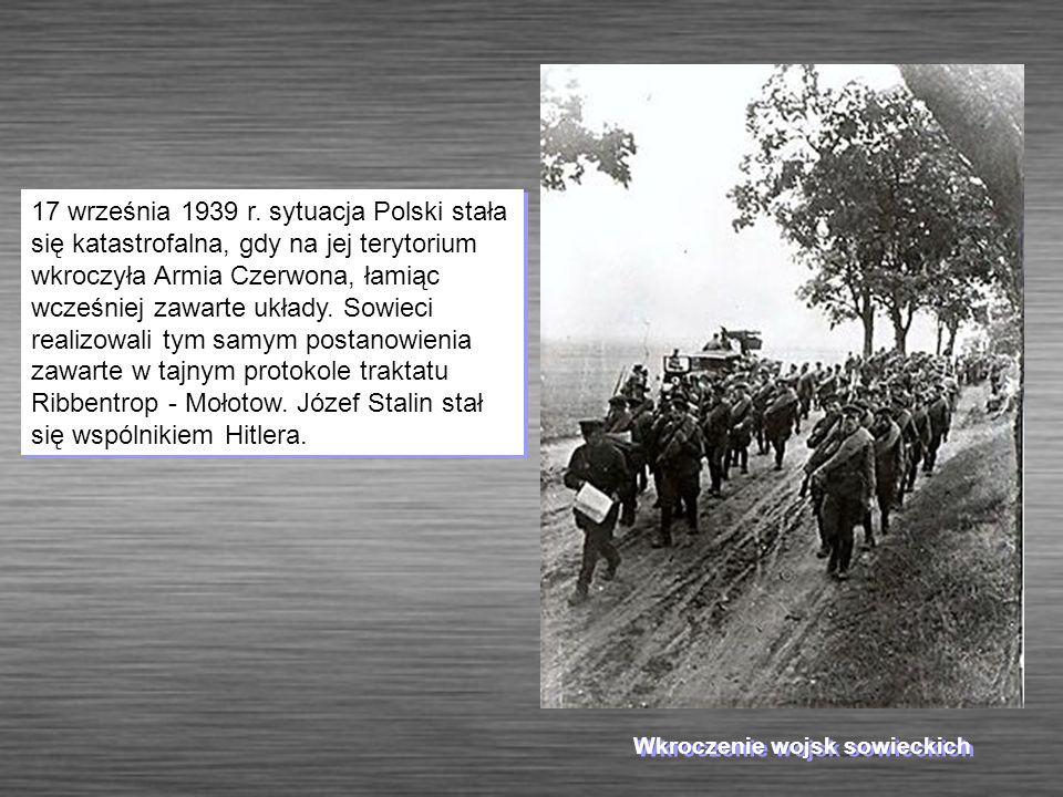 Wkroczenie wojsk sowieckich
