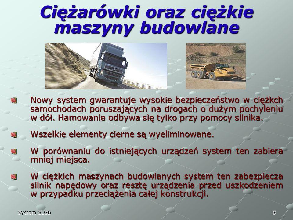 Ciężarówki oraz ciężkie maszyny budowlane