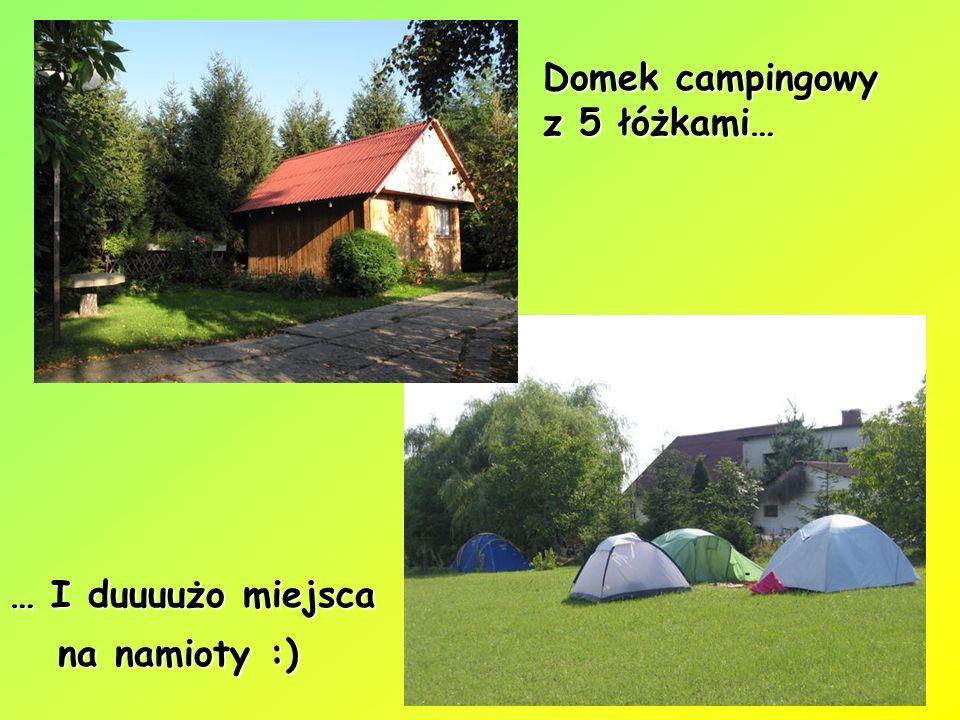 Domek campingowy z 5 łóżkami…