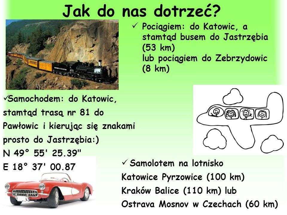 Jak do nas dotrzeć Pociągiem: do Katowic, a