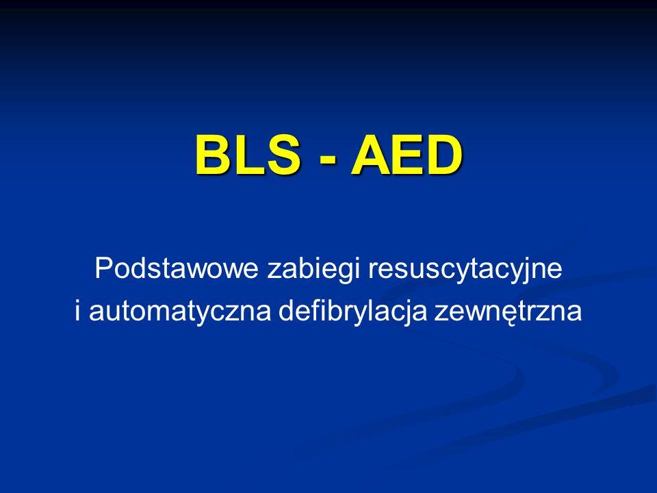 BLS - AED Podstawowe zabiegi resuscytacyjne