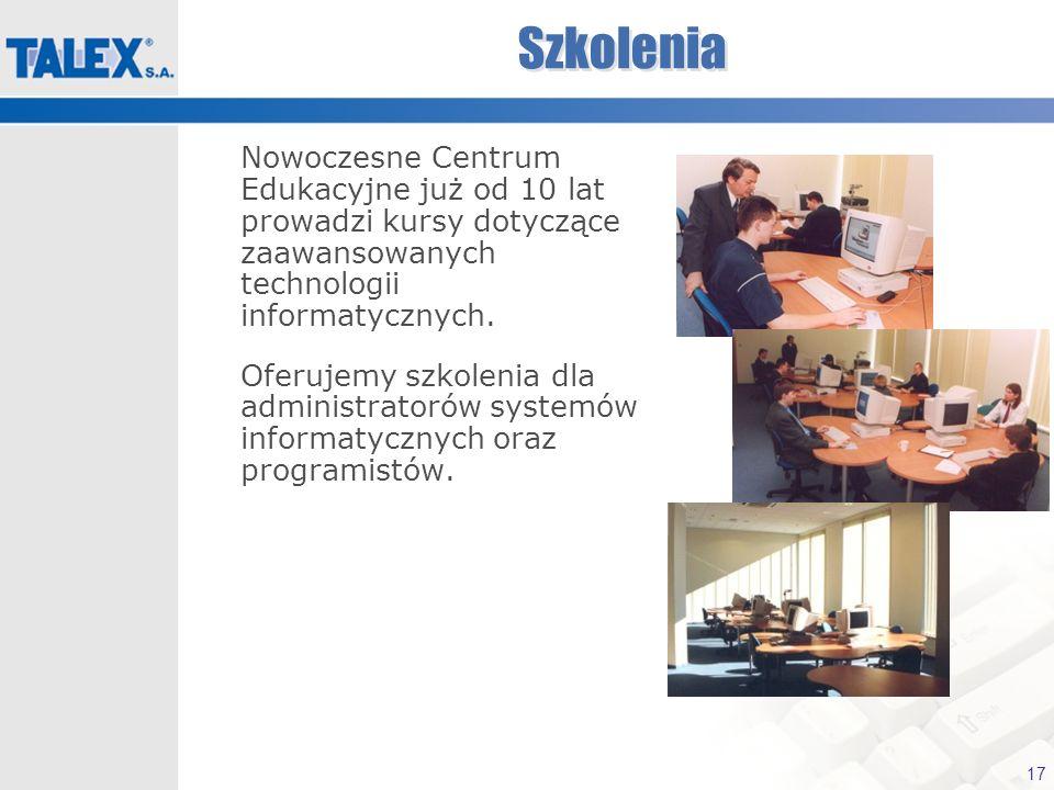 SzkoleniaNowoczesne Centrum Edukacyjne już od 10 lat prowadzi kursy dotyczące zaawansowanych technologii informatycznych.