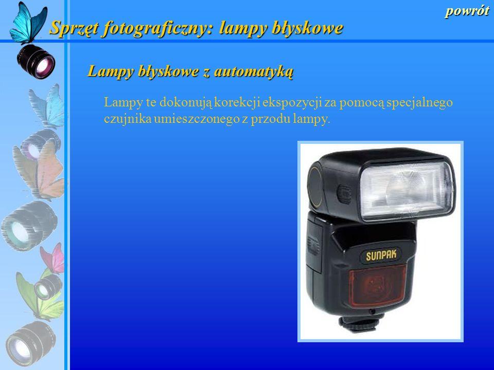 Sprzęt fotograficzny: lampy błyskowe
