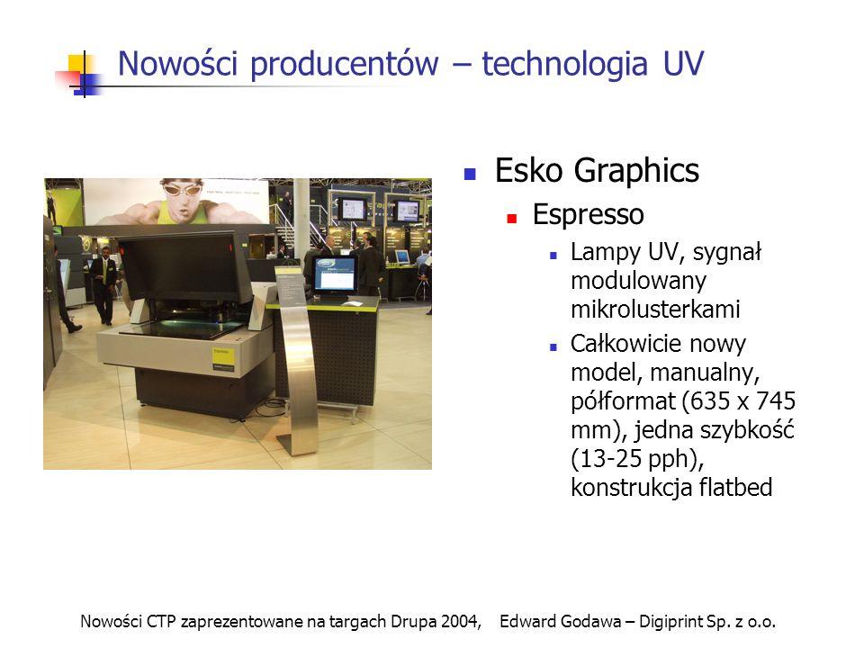 Nowości producentów – technologia UV