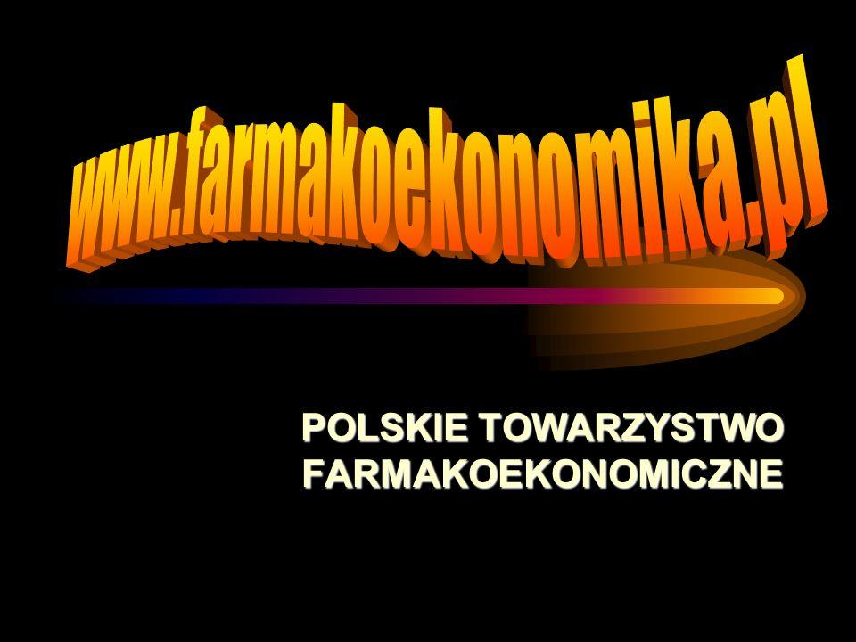 POLSKIE TOWARZYSTWO FARMAKOEKONOMICZNE