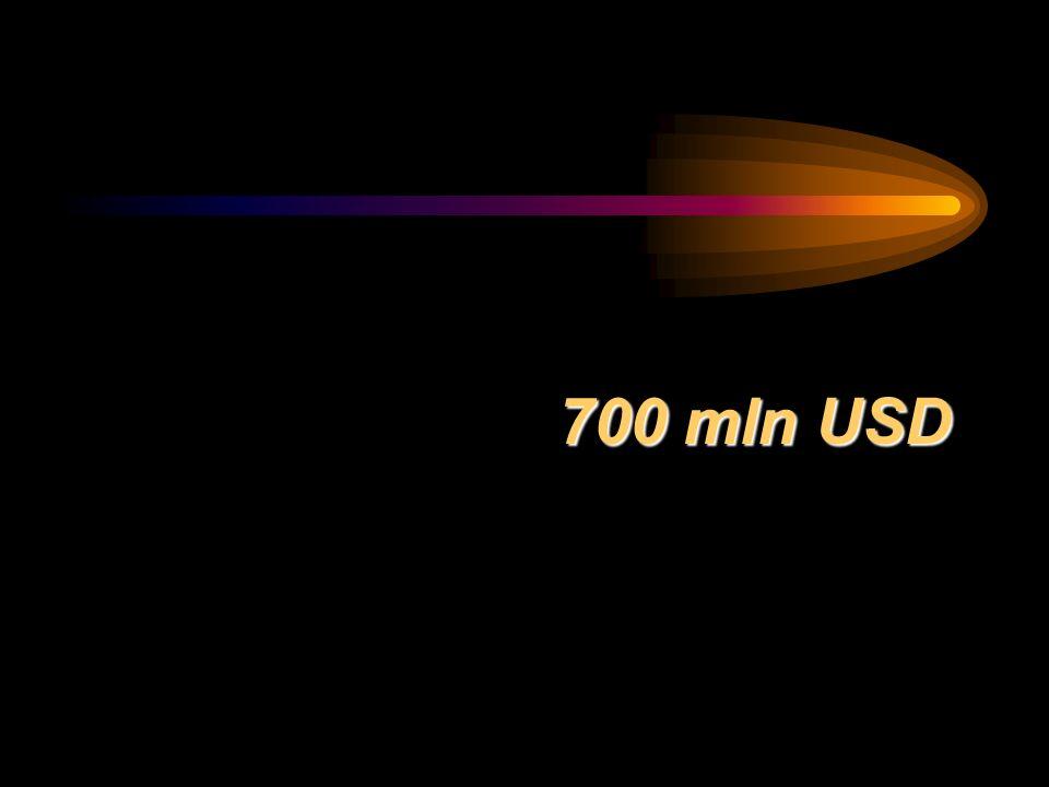 700 mln USD