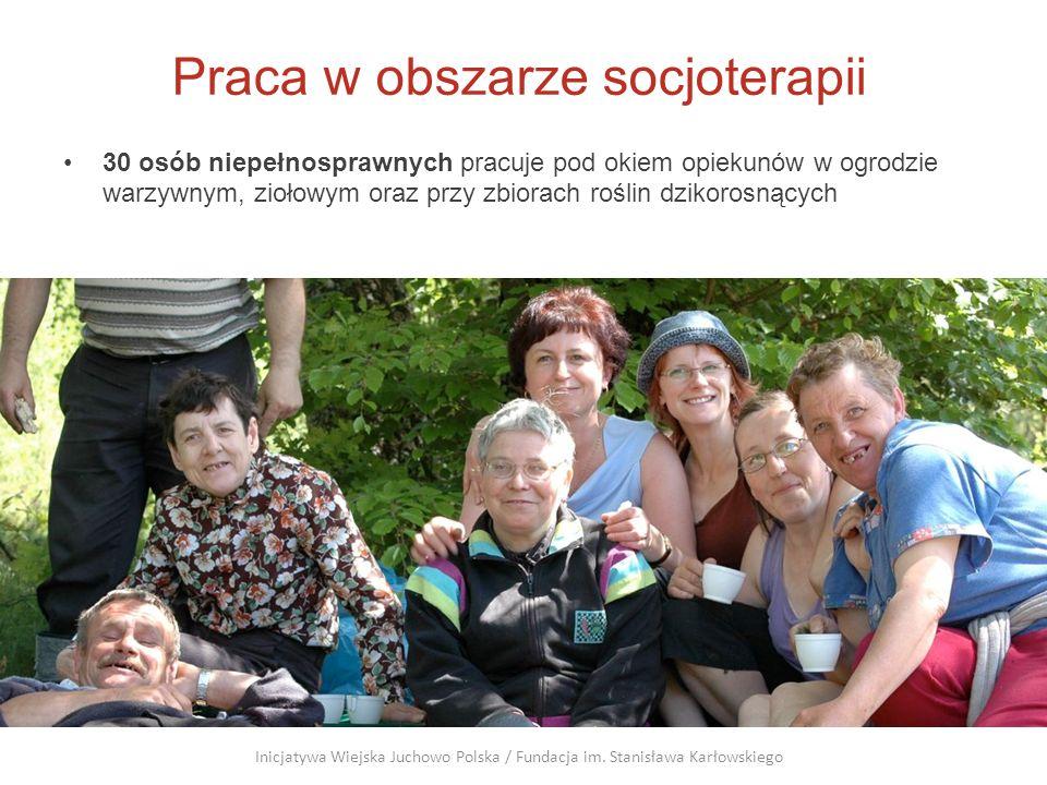 Praca w obszarze socjoterapii